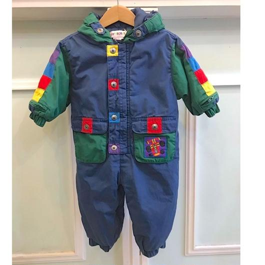 377.【USED】GYMBOREE Colorful  OuterRompers