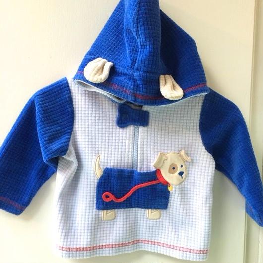 【USED】Dog motif Hoodie