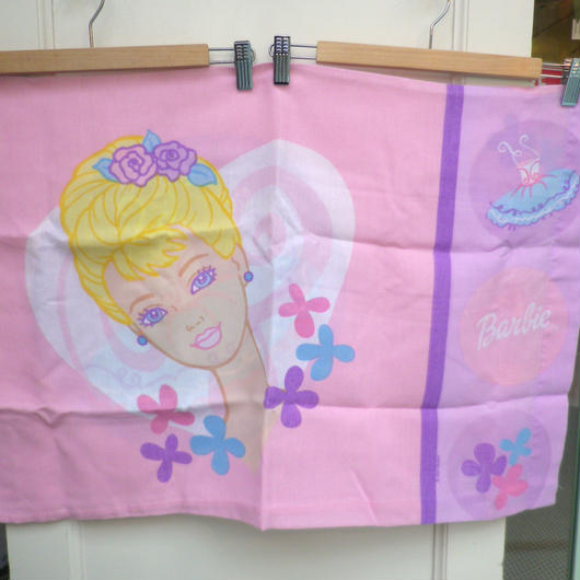 【USED】Barbie Dress Pillow Case (Made in U.S.A.)