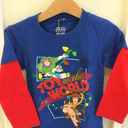 """【USED】""""TOY STORY"""" Long sleeve T-shirts"""