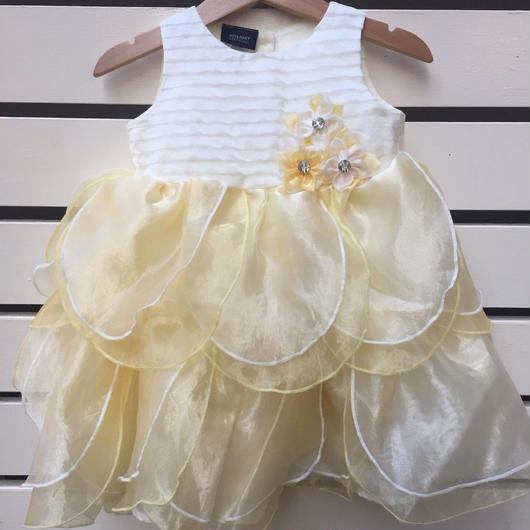 【USED】Yellow Flower Formal Dress