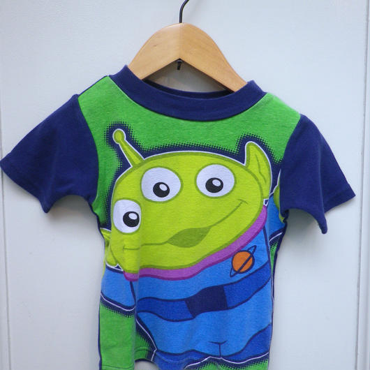 """【USED】""""TOY STORY"""" Little Green Men T-shirts"""