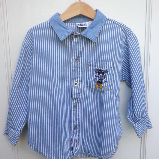 【USED】Mickey Denim Shirts