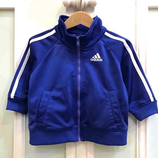 "【USED】""adidas"" blue track top"