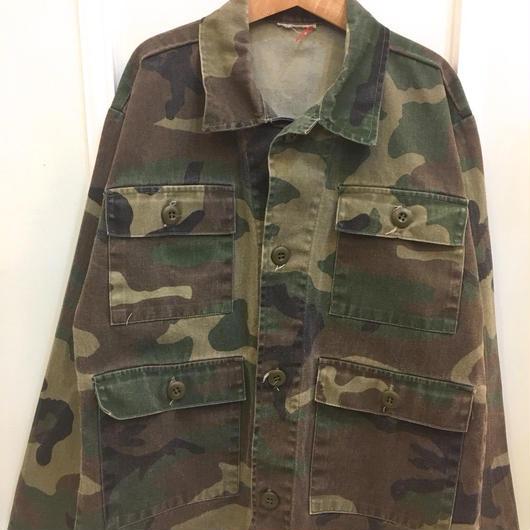 【USED】Camo print Shirt