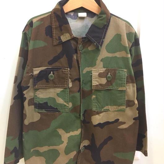 【USED】Camo Shirt