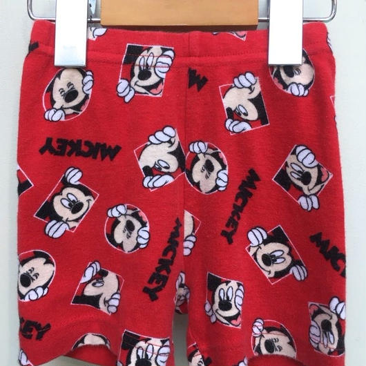 "【USED】""Disney"" Smiling Mickey Short pants"