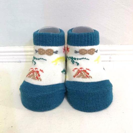 """""""jam garden"""" socks 恐竜時代"""