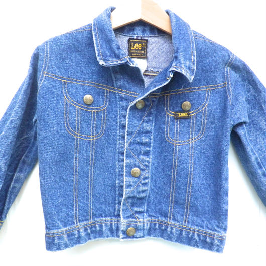 【USED】Lee Fake Pocket Denim Jacket ( Made in U.S.A.)