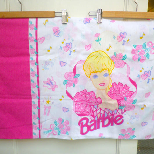 【USED】Barbie Pink Pillow Case