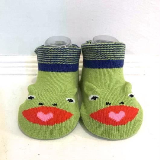 """""""jam garden"""" socks かえるさん"""