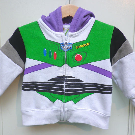 """【USED】""""TOY STORY"""" Buzz Hoodie"""