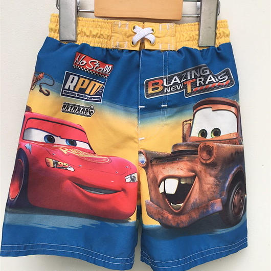 "【USED】""Cars & Mater"" swimwear"