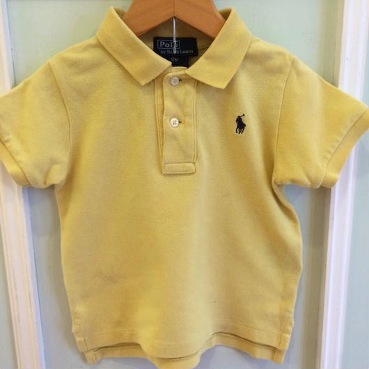 "【USED】""Ralph Lauren"" Yellow Polo"