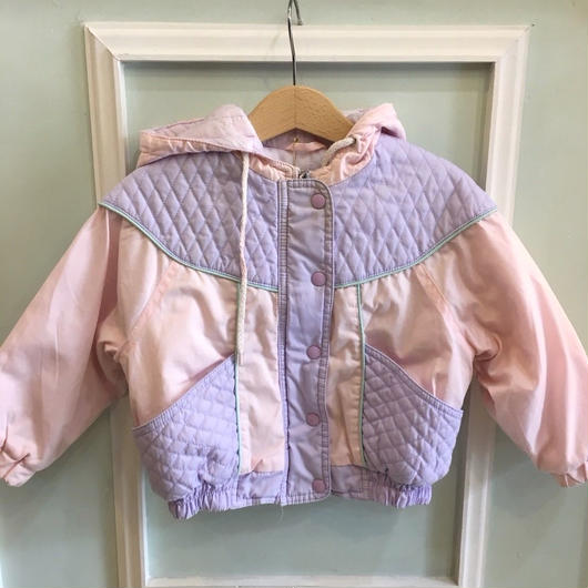 140.【USED】Pastel color Quilting outer