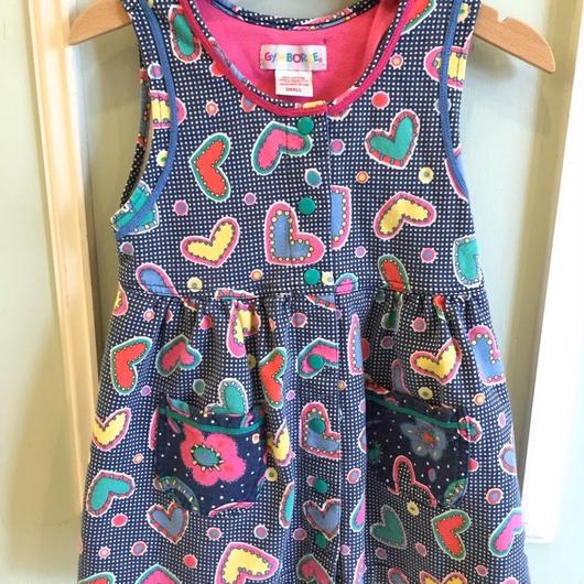 "【USED】""GYMBOREE"" Heart Dress"