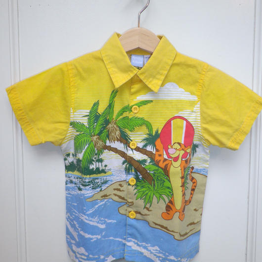 【USED】Pooh Surfin Shirts