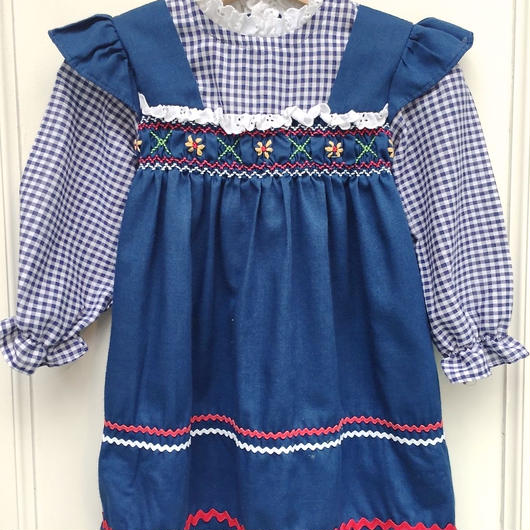 【USED】《VINTAGE》 Country Epron Dress