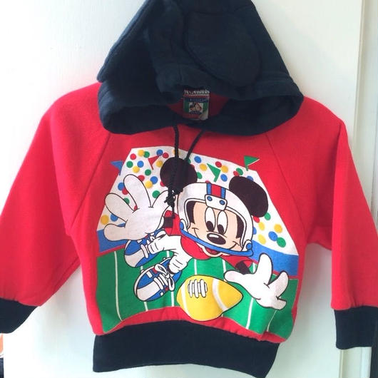 "【USED】""Mickey"" Rugby Sweater"
