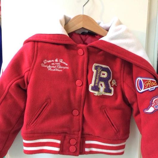 【USED】Red Stadium Jacket