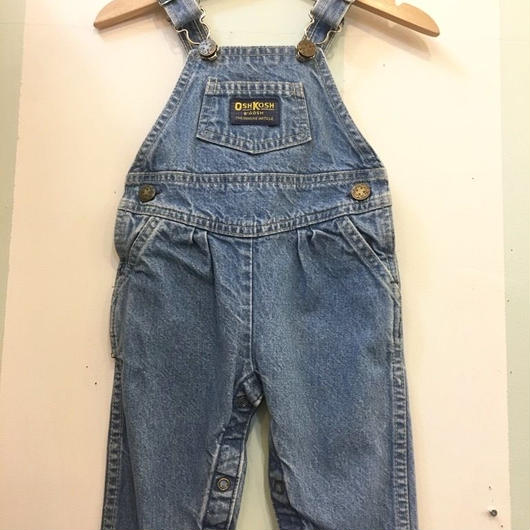 "【USED】""OSHKOSH"" OLD Design Overall (Made in U.S.A.)"