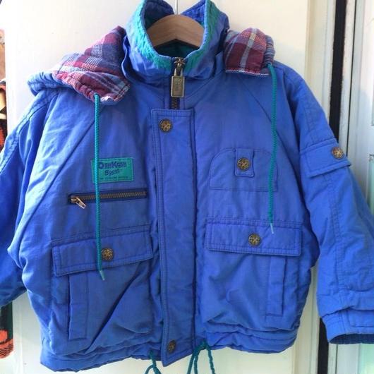 """116.【USED】""""OSHKOSH"""" Blue batting Jacket"""