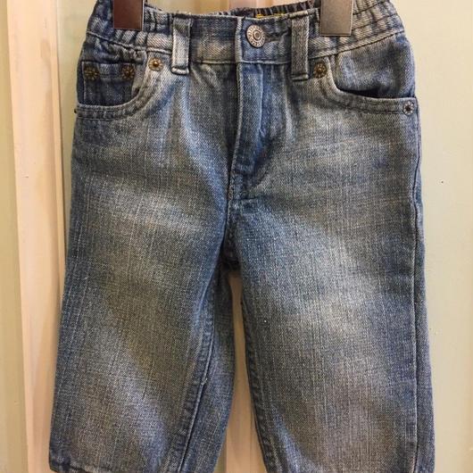 "【USED】""Levi's"" Denim long pants"