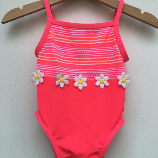 【USED】Daisy pink swimwear
