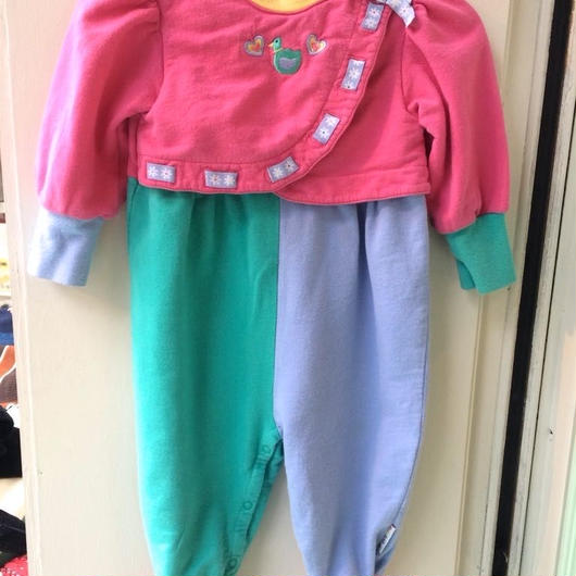 "211.【USED】""GYMBOREE""  Colorful Rompers"