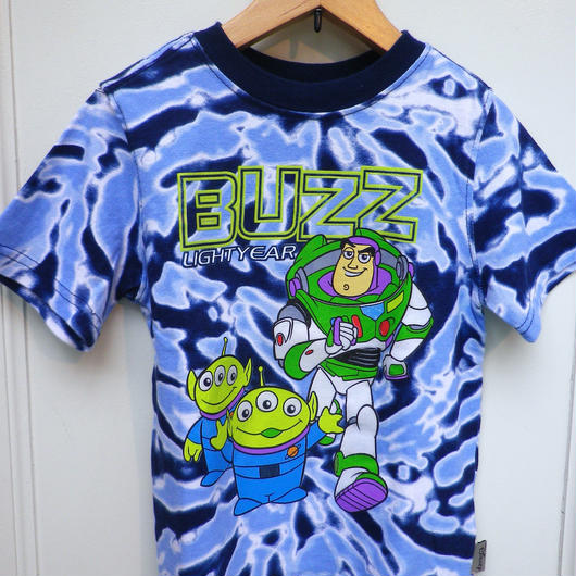"""【USED】""""TOY STORY"""" Tie-Dye T-shirts"""