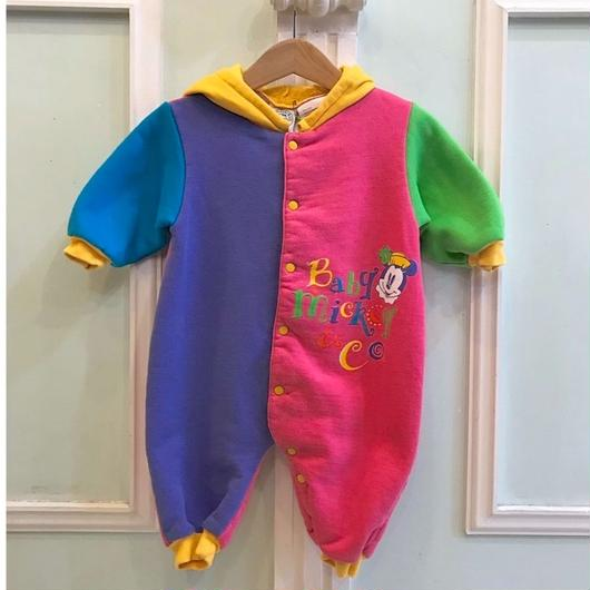 374.【USED】Colorful Minnie Mouse Rompers