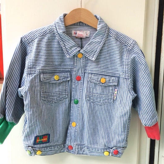 "【USED】""GYMBOREE"" Hickory Stripe Jacket"