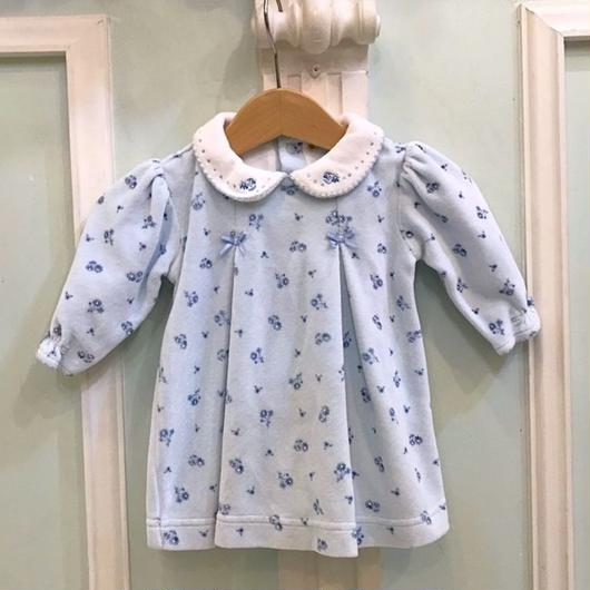 395.【USED】Blue Ribbon Flower Tops