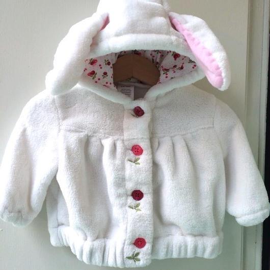 "【USED】""GYMBOREE"" Rabbit Hoodie"