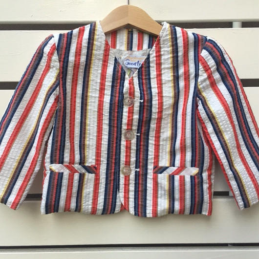 【USED】60'-70' Vintage Stripe formal jacket