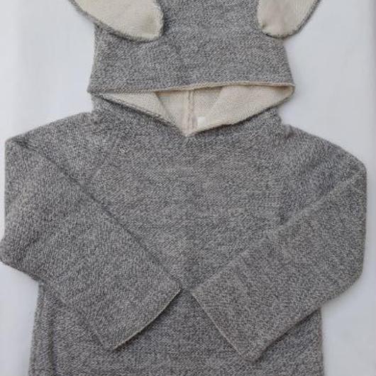 □【oeuf】Animal Hoodie /bunny