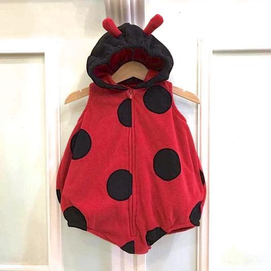 294.【USED】Ladybug costume