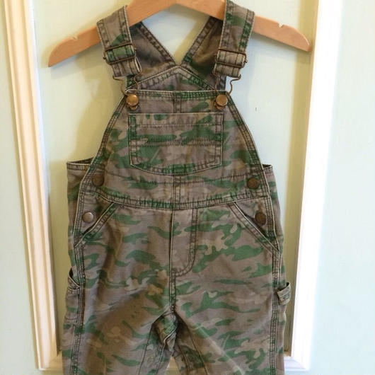 【USED】Camouflage print  Overall