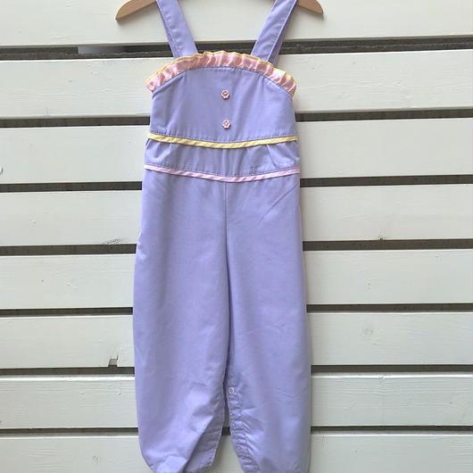 318.【USED】Fancy Purple Rompers
