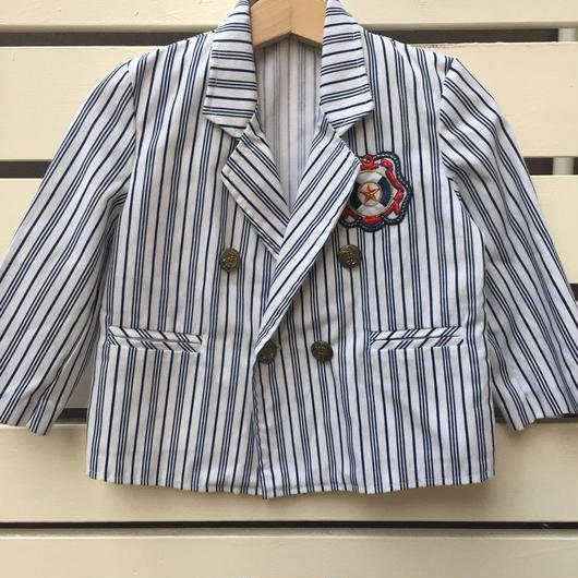 【USED】Marine Stripe formal jacket