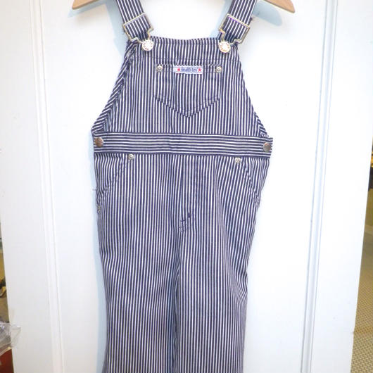 【USED】 Vintage Health-tex Hickory Stripe Overall (Made in U.S.A.)