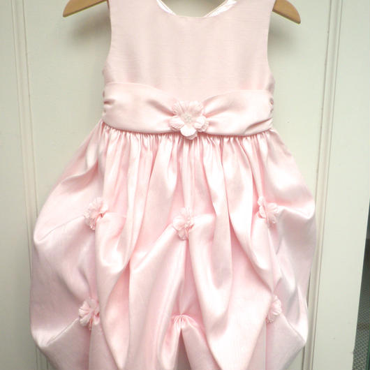 【USED】Formal Pink Flower Dress