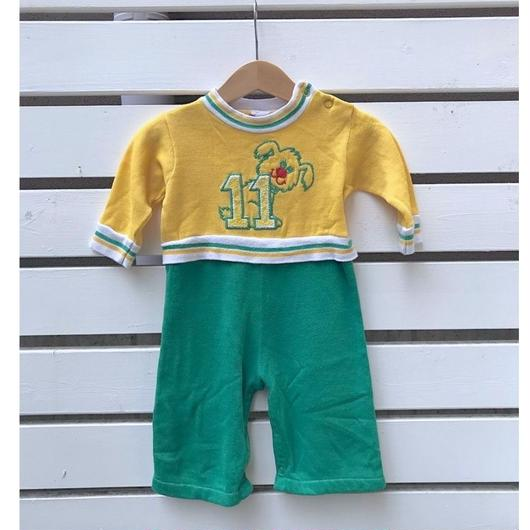 335.【USED】OLD Carter's Dog Rompers