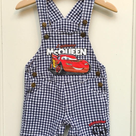 """【USED】""""Cars"""" Mcoueen Short Overall"""
