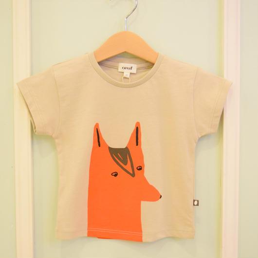 【oeuf】FOX TEE /4T