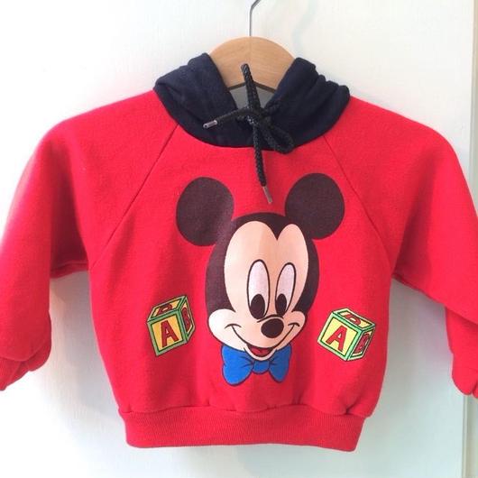 """【USED】""""Mickey"""" Hoodie"""