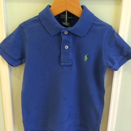 "【USED】""Ralph Lauren"" Blue Polo"