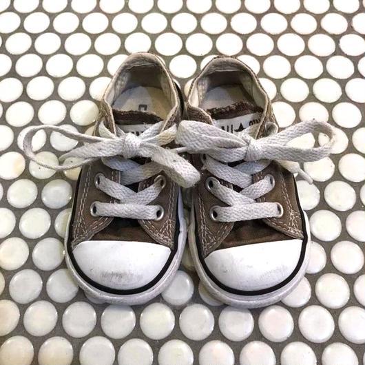 "【USED】""CONVERSE"" ALL STAR Sneaker /  beige"