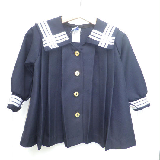 【USED】Sailor Pleat Dress (Made In U.S.A.)