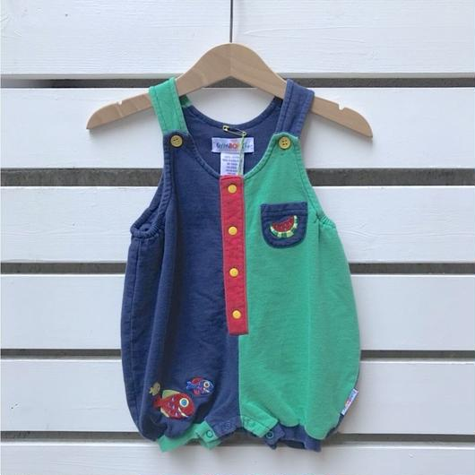 【USED】Watermelon colorful  Rompers